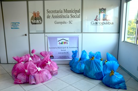 Assistência Social distribui kits para gestantes em vulnerabilidade social