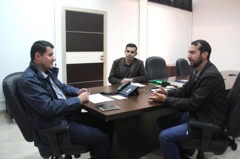 Jackson Sena e Jean Ricardo visitam o secretário de Turismo do Estado Tufi Michreff Neto