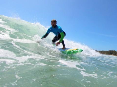 5 Festival  Free Surf e Jowat de Surf em Pranchas de Garrafas Pet.