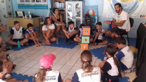 Alunos da EMEF Paula Martins Pereira visitam o MMC