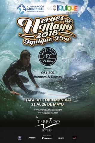 Heroes de Mayo Iquique Pro estreia com surfistas de 17 países