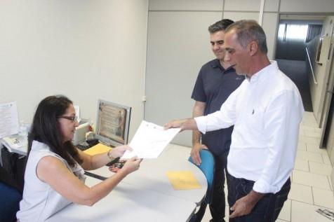 Prefeito em exercício Nilton Raupp entrega para Câmara projeto Garopaba simplifica