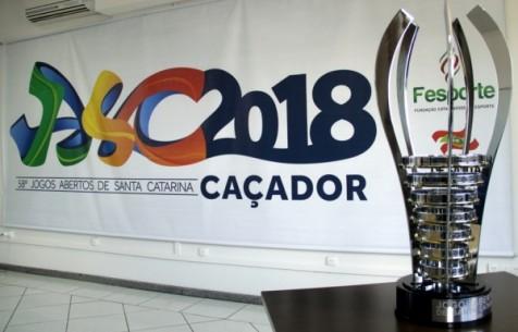 Garopaba vai sediar Etapa Microrregional e apresenta maior delegação de sua história nos 58º Jogos Abertos de Santa Catarina