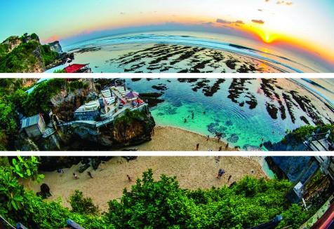 Quadro em canvas - Bali Times - Uluwatu